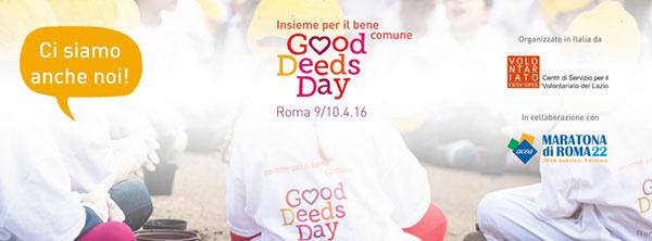 Good deeds day Roma 2016